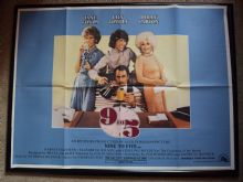 9 to 5 | UK Movie Poster | Dolly Parton